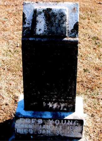 YOUNG, FRED - Carroll County, Arkansas | FRED YOUNG - Arkansas Gravestone Photos