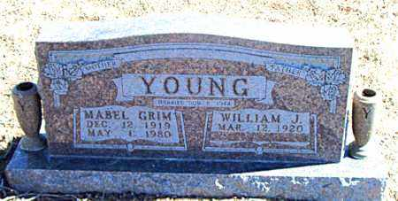 YOUNG, MABEL  J. - Carroll County, Arkansas | MABEL  J. YOUNG - Arkansas Gravestone Photos