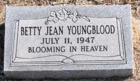YOUNGBLOOD, BETTY  JEAN - Carroll County, Arkansas | BETTY  JEAN YOUNGBLOOD - Arkansas Gravestone Photos
