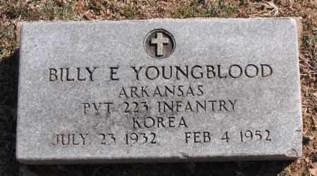 YOUNGBLOOD (VETERAN KOR), BILLY  E - Carroll County, Arkansas | BILLY  E YOUNGBLOOD (VETERAN KOR) - Arkansas Gravestone Photos