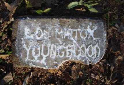 MATTOX YOUNGBLOOD, LOU - Carroll County, Arkansas | LOU MATTOX YOUNGBLOOD - Arkansas Gravestone Photos