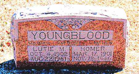 YOUNGBLOOD, LUTIE  M. - Carroll County, Arkansas | LUTIE  M. YOUNGBLOOD - Arkansas Gravestone Photos