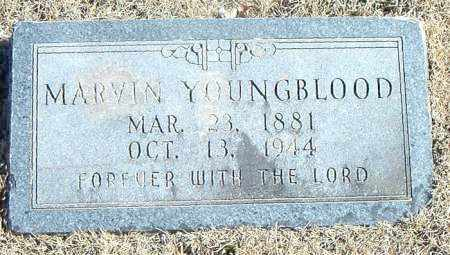 YOUNGBLOOD, MARVIN - Carroll County, Arkansas | MARVIN YOUNGBLOOD - Arkansas Gravestone Photos