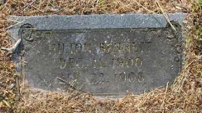 BENNETT, HILTON - Chicot County, Arkansas | HILTON BENNETT - Arkansas Gravestone Photos