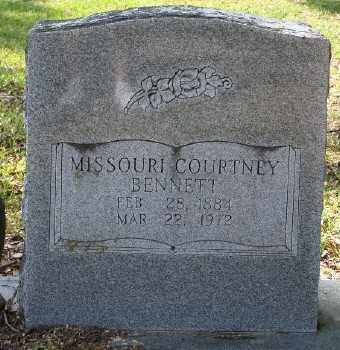 BENNETT, MISSOURI COURTNEY - Chicot County, Arkansas | MISSOURI COURTNEY BENNETT - Arkansas Gravestone Photos