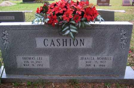 CASHION, JUANITA - Chicot County, Arkansas | JUANITA CASHION - Arkansas Gravestone Photos
