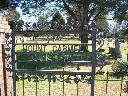 *MOUNT CARMEL CEMETERY GATE,  - Chicot County, Arkansas |  *MOUNT CARMEL CEMETERY GATE - Arkansas Gravestone Photos