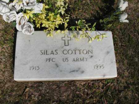 COTTON (VETERAN), SILAS - Chicot County, Arkansas | SILAS COTTON (VETERAN) - Arkansas Gravestone Photos