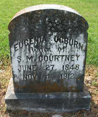 COURTNEY, EUGENIA - Chicot County, Arkansas | EUGENIA COURTNEY - Arkansas Gravestone Photos