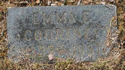 COURTNEY, EMMA E. - Chicot County, Arkansas | EMMA E. COURTNEY - Arkansas Gravestone Photos