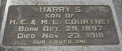 COURTNEY, HARRY S. - Chicot County, Arkansas | HARRY S. COURTNEY - Arkansas Gravestone Photos
