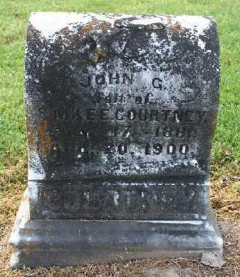 COURTNEY, JOHN G. - Chicot County, Arkansas | JOHN G. COURTNEY - Arkansas Gravestone Photos
