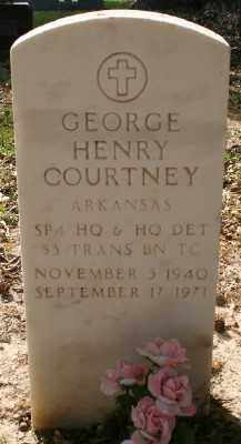 COURTNEY (VETERAN VIET), GEORGE HENRY - Chicot County, Arkansas | GEORGE HENRY COURTNEY (VETERAN VIET) - Arkansas Gravestone Photos