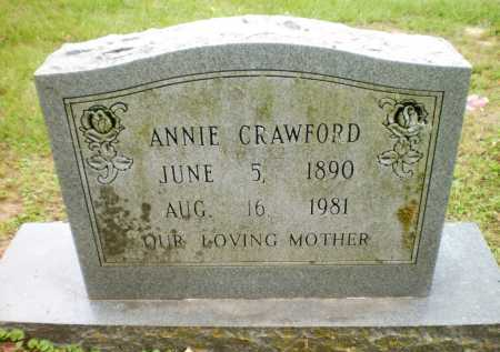 CRAWFORD, ANNIE - Chicot County, Arkansas | ANNIE CRAWFORD - Arkansas Gravestone Photos