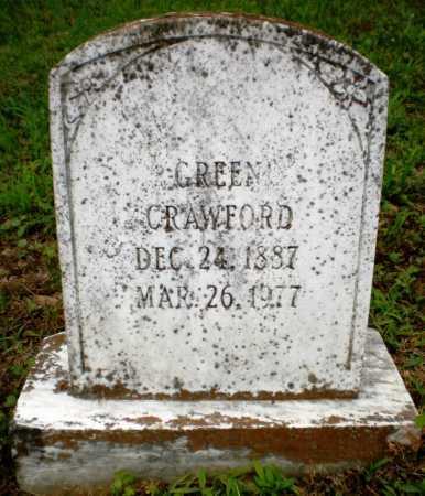 CRAWFORD, GREEN - Chicot County, Arkansas | GREEN CRAWFORD - Arkansas Gravestone Photos
