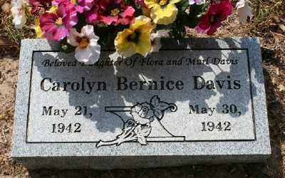 DAVIS, CAROLYN BERNICE - Chicot County, Arkansas | CAROLYN BERNICE DAVIS - Arkansas Gravestone Photos