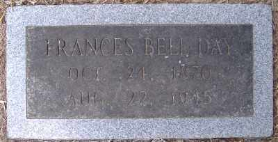 DAY, FRANCES BELL - Chicot County, Arkansas | FRANCES BELL DAY - Arkansas Gravestone Photos