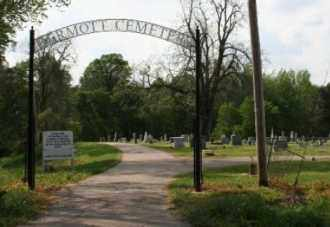 *DERMOTT CEMETERY ENTRANCE,  - Chicot County, Arkansas |  *DERMOTT CEMETERY ENTRANCE - Arkansas Gravestone Photos