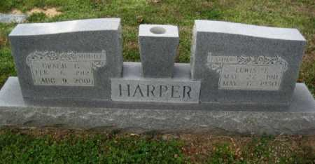HARPER, LEWIS E - Chicot County, Arkansas | LEWIS E HARPER - Arkansas Gravestone Photos