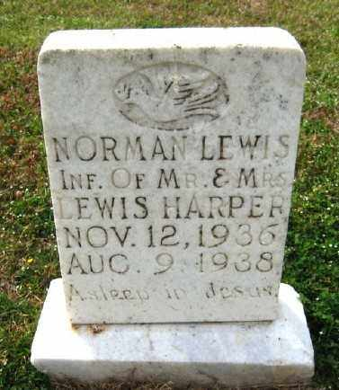 HARPER, NORMAN LEWIS - Chicot County, Arkansas | NORMAN LEWIS HARPER - Arkansas Gravestone Photos
