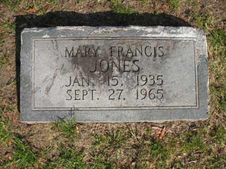 JONES, MARY FRANCIS - Chicot County, Arkansas | MARY FRANCIS JONES - Arkansas Gravestone Photos