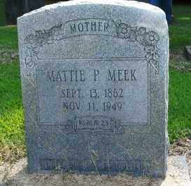 MEEK, MATTIE P - Chicot County, Arkansas   MATTIE P MEEK - Arkansas Gravestone Photos