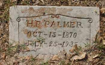 PALMER, H. P. - Chicot County, Arkansas | H. P. PALMER - Arkansas Gravestone Photos