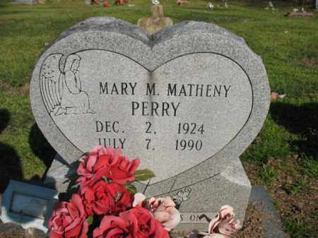 PERRY, MARY M - Chicot County, Arkansas | MARY M PERRY - Arkansas Gravestone Photos