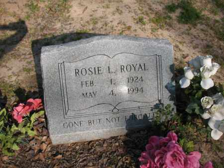 ROYAL, ROSIE L - Chicot County, Arkansas | ROSIE L ROYAL - Arkansas Gravestone Photos