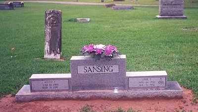 SANSING, LOUIE ELVIN - Chicot County, Arkansas | LOUIE ELVIN SANSING - Arkansas Gravestone Photos