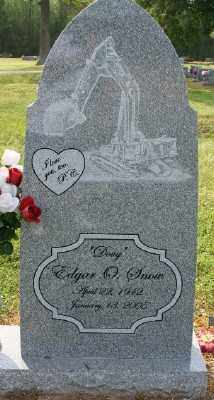 SNOW, EDGAR O. - Chicot County, Arkansas | EDGAR O. SNOW - Arkansas Gravestone Photos