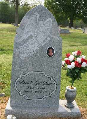 SNOW, RHONDA GAIL - Chicot County, Arkansas | RHONDA GAIL SNOW - Arkansas Gravestone Photos