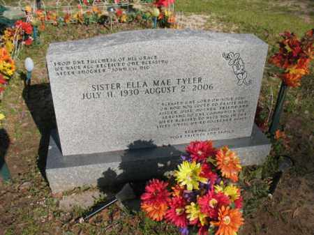 TYLER, ELLA MAE - Chicot County, Arkansas | ELLA MAE TYLER - Arkansas Gravestone Photos