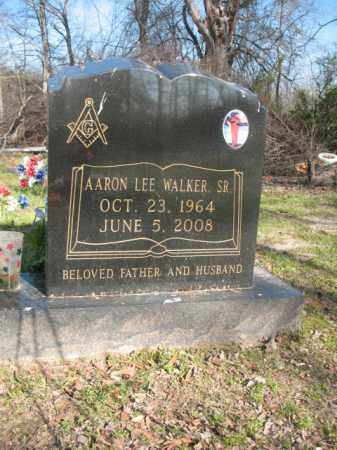 WALKER, SR, AARON LEE - Chicot County, Arkansas | AARON LEE WALKER, SR - Arkansas Gravestone Photos
