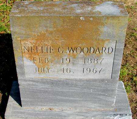 WOODARD, NELLIE G - Chicot County, Arkansas | NELLIE G WOODARD - Arkansas Gravestone Photos