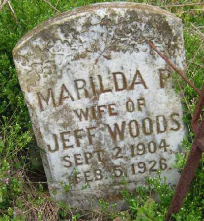 WOODS, MARILDA P - Chicot County, Arkansas | MARILDA P WOODS - Arkansas Gravestone Photos
