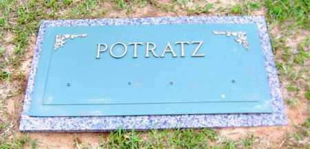 POTRATZ, (MARKER) - Clark County, Arkansas | (MARKER) POTRATZ - Arkansas Gravestone Photos