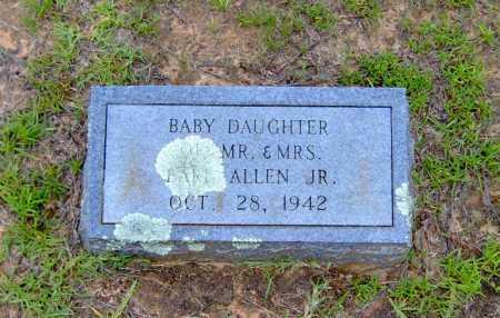 ALLEN, BABY - Clark County, Arkansas | BABY ALLEN - Arkansas Gravestone Photos