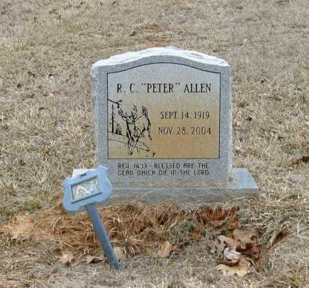 "ALLEN, R. C. ""PETER"" - Clark County, Arkansas 