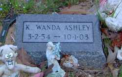 ASHLEY, K. WANDA - Clark County, Arkansas | K. WANDA ASHLEY - Arkansas Gravestone Photos