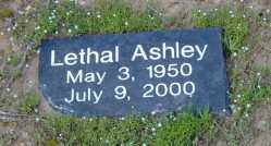 ASHLEY, LETHAL - Clark County, Arkansas | LETHAL ASHLEY - Arkansas Gravestone Photos
