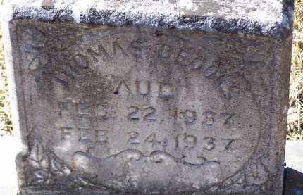 AUD, THOMAS BROOKS - Clark County, Arkansas | THOMAS BROOKS AUD - Arkansas Gravestone Photos