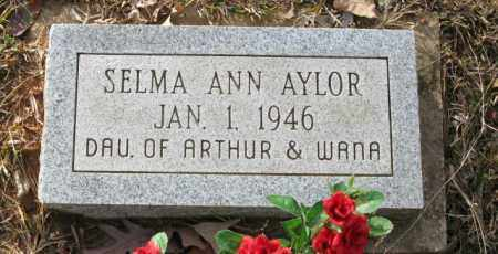 AYLOR, SELMA ANN - Clark County, Arkansas | SELMA ANN AYLOR - Arkansas Gravestone Photos