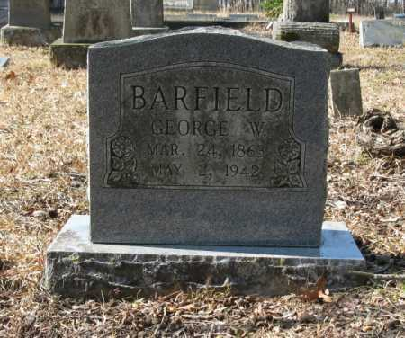 BARFIELD, GEORGE W. - Clark County, Arkansas | GEORGE W. BARFIELD - Arkansas Gravestone Photos