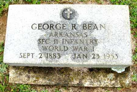 BEAN (VETERAN WWI), GEORGE ROBERT - Clark County, Arkansas | GEORGE ROBERT BEAN (VETERAN WWI) - Arkansas Gravestone Photos