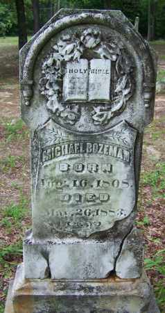 BOZEMAN, MICHAEL - Clark County, Arkansas | MICHAEL BOZEMAN - Arkansas Gravestone Photos