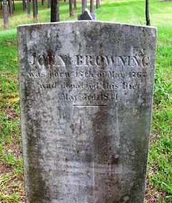 BROWNING (VETERAN 2 WARS), JOHN RADFORD - Clark County, Arkansas | JOHN RADFORD BROWNING (VETERAN 2 WARS) - Arkansas Gravestone Photos