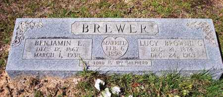BROWNING BREWER, LUCY LOUISA - Clark County, Arkansas | LUCY LOUISA BROWNING BREWER - Arkansas Gravestone Photos