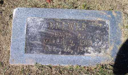 BREWER, DAVID A - Clark County, Arkansas | DAVID A BREWER - Arkansas Gravestone Photos
