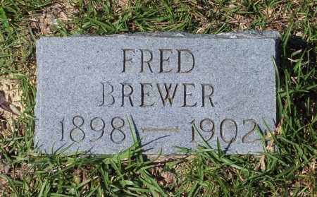 BREWER, FRED - Clark County, Arkansas | FRED BREWER - Arkansas Gravestone Photos